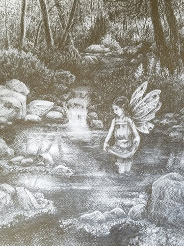 Woodland Fairy Sketch