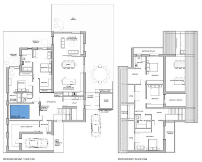 Contemporary, Split Level, New Build House