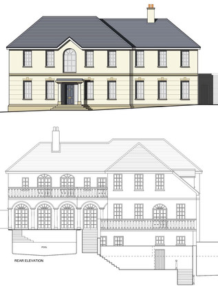 'Classical' Style New Build House