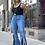 Thumbnail: Split Flare Jeans