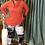 Thumbnail: Tie Dye Lace Split Knee Leggings