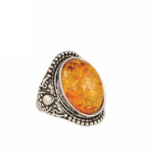 Vintage Stone Accent Ring