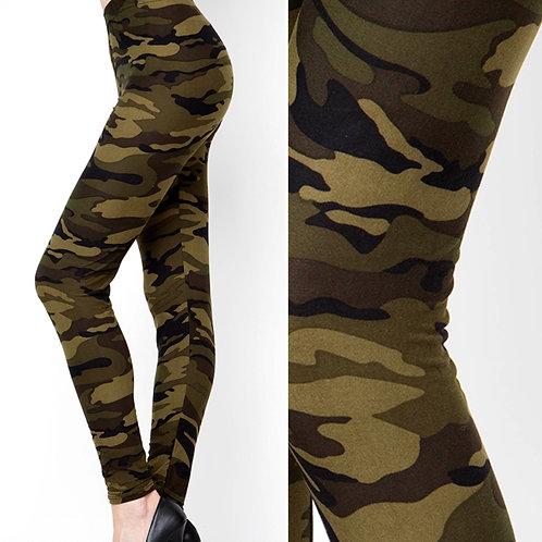 Wow! Leggings Camouflage Print