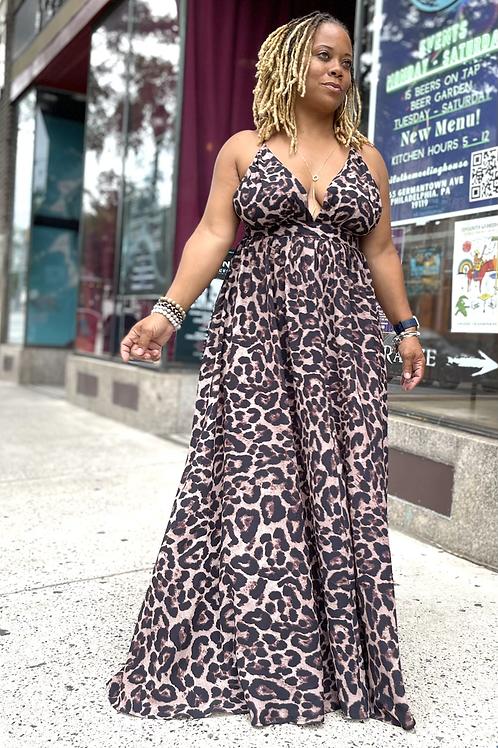 Panthera Maxi Dress