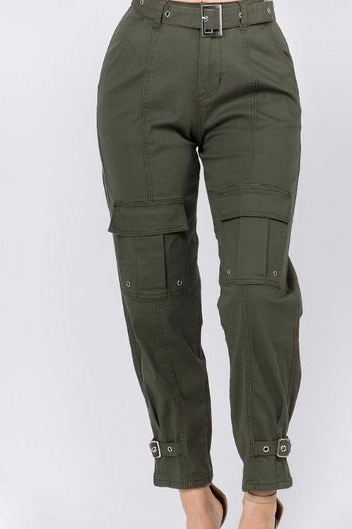 Anterior Cargo Pocket Pants OLV