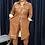Thumbnail: Vegan Leather Shirt Dress CML