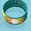Thumbnail: Santa Fe Beaded Diamond Cuff Bracelet