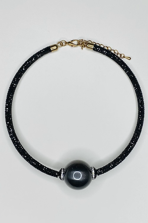 Bling Thing Necklace Black