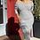 Thumbnail: PLUS Stripe Pencil Maxi Dress
