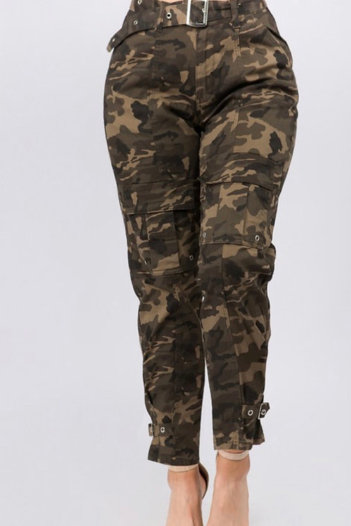 Anterior Cargo Pocket Pants CAMO