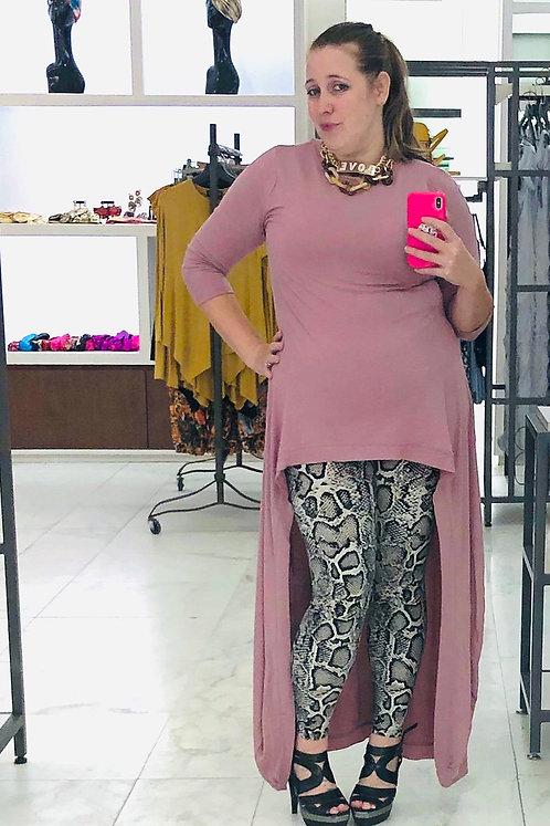 Goddess Hestia Rose Pink Tunic