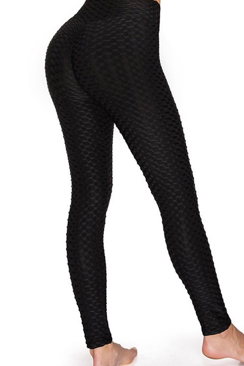Honey Comb Leggings BLK