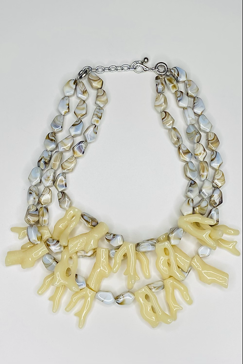 Ivory Ocean Coral Necklace