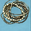 Thumbnail: Gold Multi-strand Stretch Bracelets