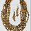 Thumbnail: Wooden Beaded Layer Necklace