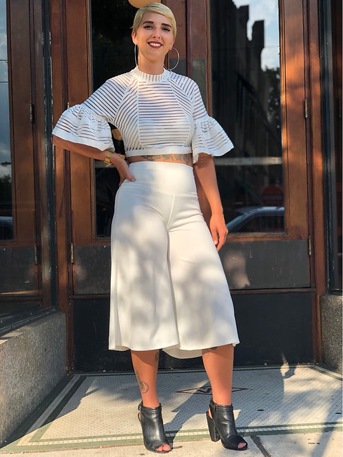 Culottes Off White