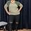 Thumbnail: Lace Split Knee Leggings