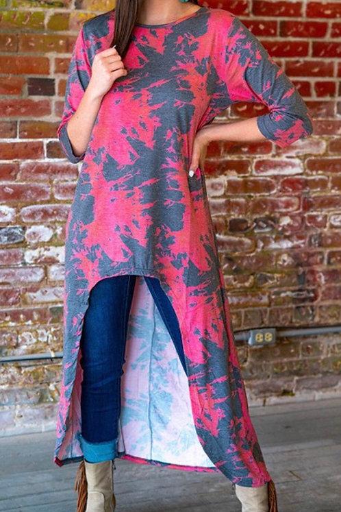 Goddess Hestia Tie Dye Tunic