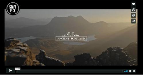 Ancient Scotland - Colour Grading Work
