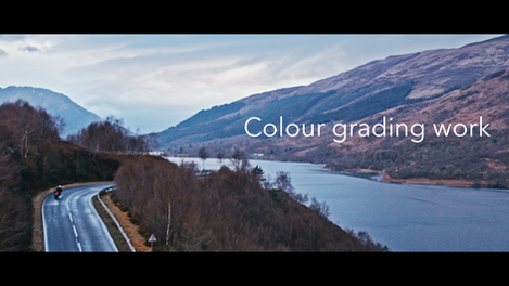 Be Safe Campaign - Colour Grading Work
