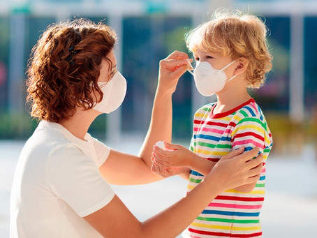 Barbijos en niños: consejos sobre su uso y cuándo evitarlos