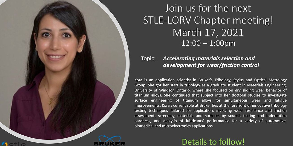 March 2021 STLE-LORV Chapter Meeting