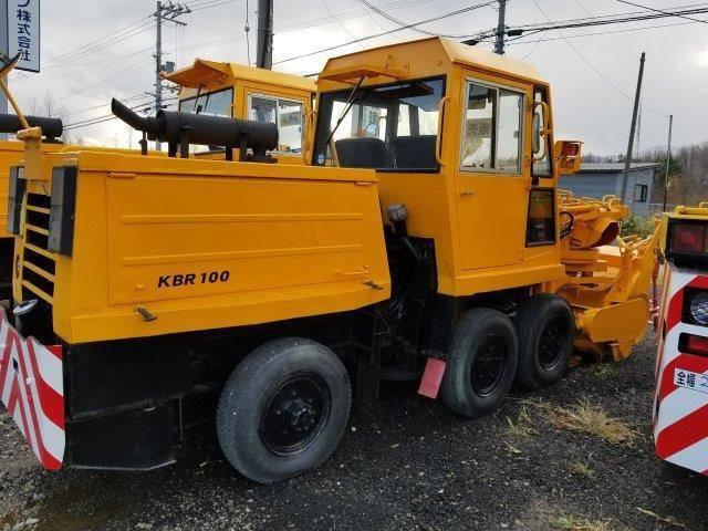 Снегоуборочный шнекоротор Nichijo KBR 100