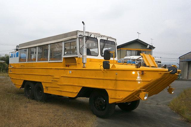 Автобус амфибия GMC DUKW-353