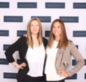 Beautiful women with glowing faces captured by 7Colours Photobooths at Love Business Expo 2019