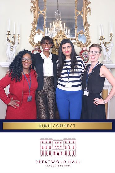 Kuku Connect Reception at Prestwold Hall with 7Colours Photobooths