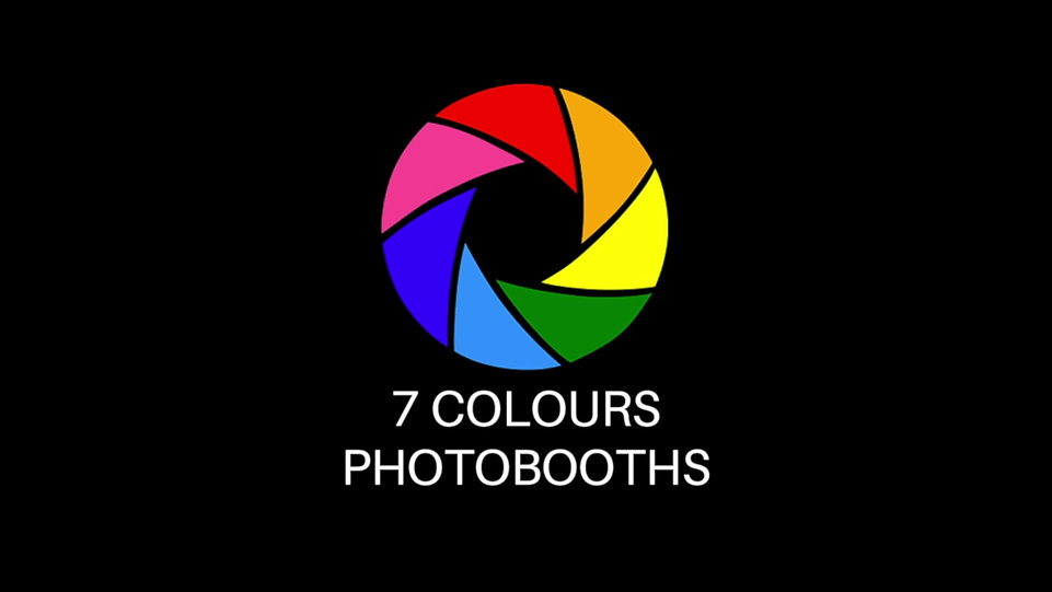 7 Colours Photo booths