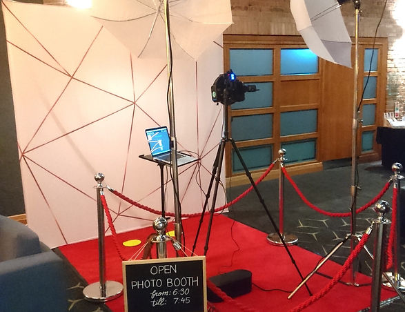 7 Colours Photobooths, Photobooth Setup