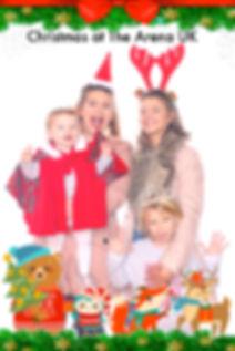 Custom Overlay Christmas Fair with 7Colours Photobooths