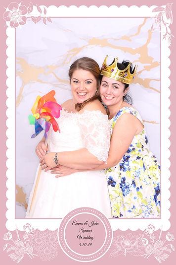 Bespoke Overlay wedding photobooth