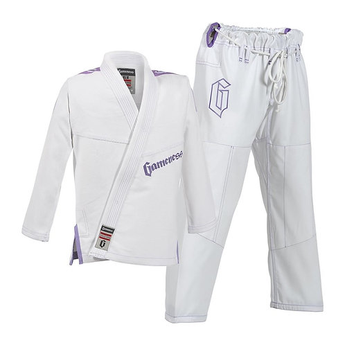 Female Gameness Pearl Gi w/ Custom MMA Logo