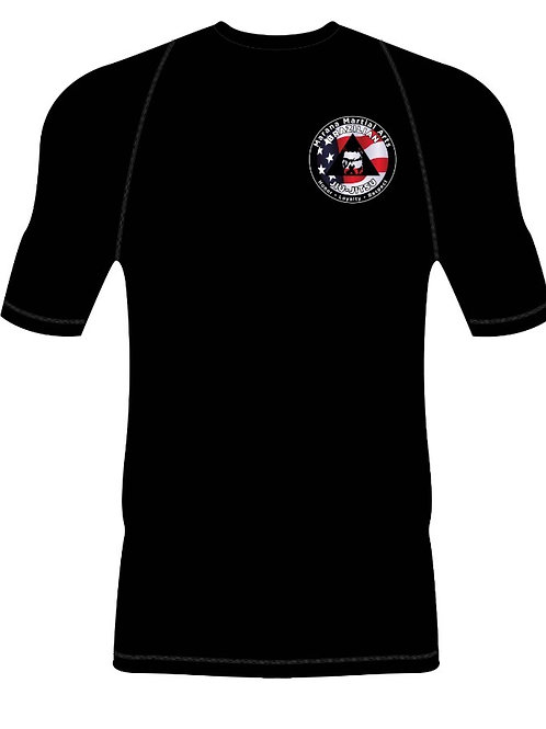 Gameness Custom MMA Logo Rashguard
