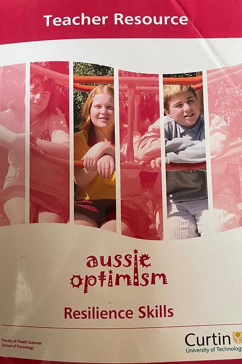 Aussie Optimism Resilience Skills Teacher Resource Book