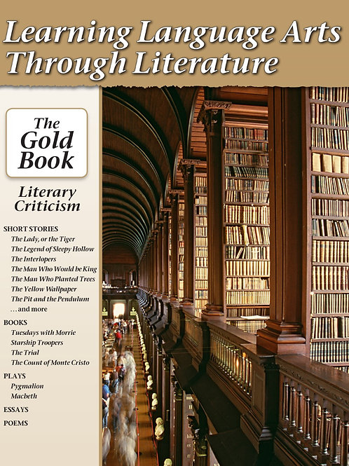 eBook LLATL: The Gold  A Literary Criticism Anthology