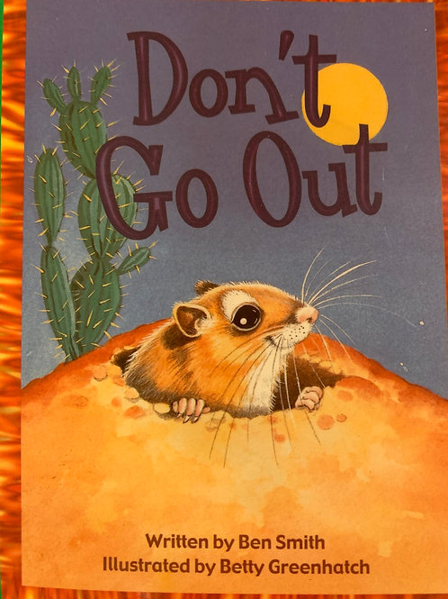 Don't Go Out Level 13 (MacMillan)