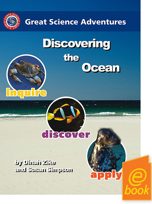 Discovering the Ocean  Grades Prep to 7 E-book