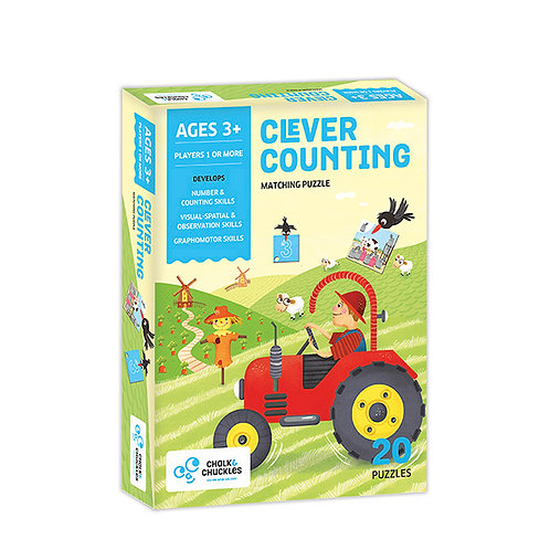 Clever Counting Matching Puzzle Game