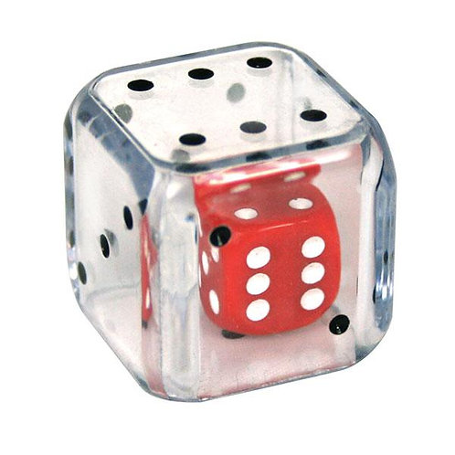 Dice in a Dice 25mm - 2 Pk