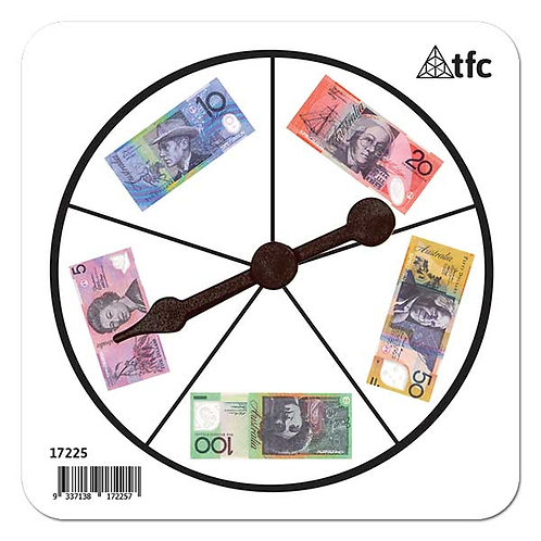 Money Notes Spinner (1 piece) $2.00