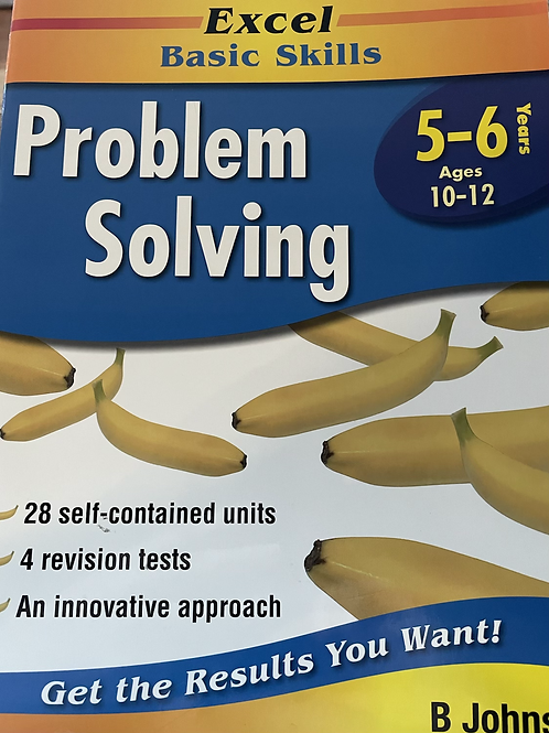 Excel Problem Solving Years 5-6 Ages 10-12