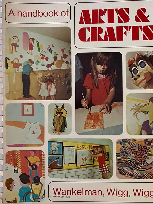 A Handbook of Arts & Crafts In good condition for upper primary & lower highscho