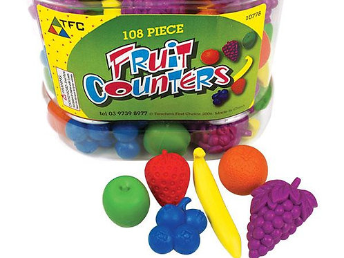Counters Fruit 108 pieces