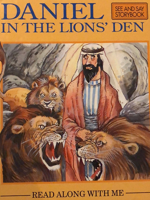 Daniel in the Lion's Den ( Read Along With Me)