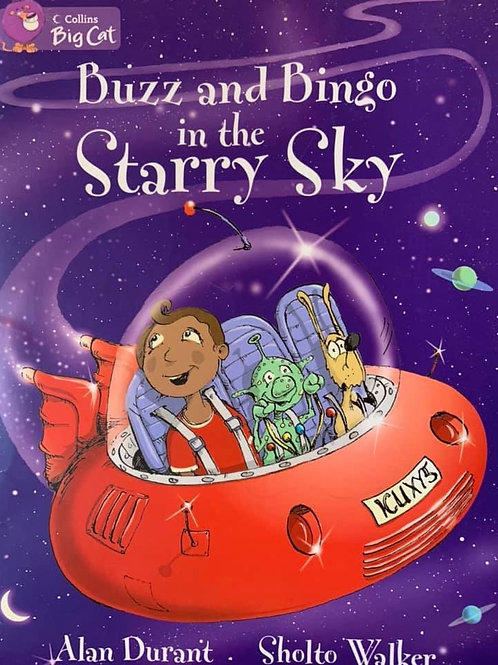 Buzz and Bingo in the Starry Sky Level 24 (Collins Big Cat)