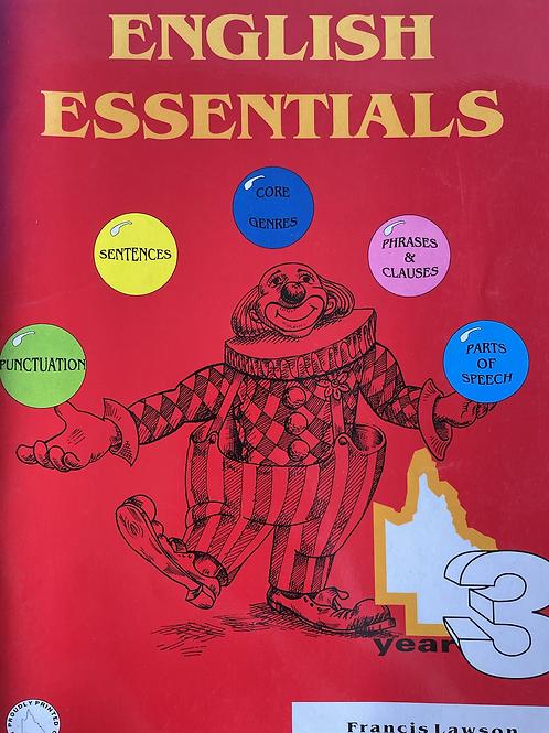 English Essentials Student Book 3