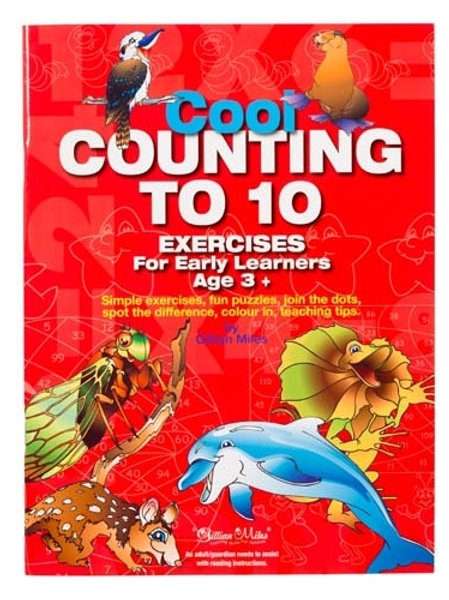 Cool Counting to 10 Workbook $9.95